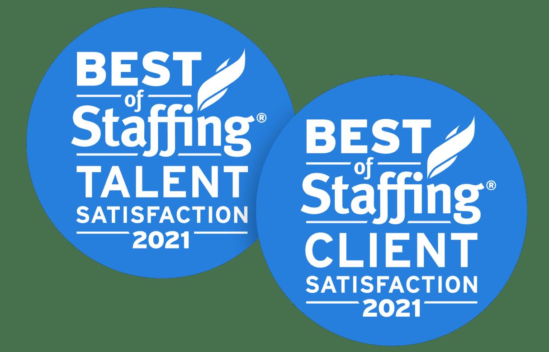 Staffing Award Badges